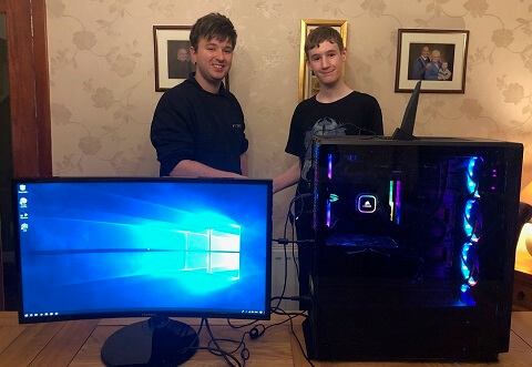 Conor from Glasgow - Custom PC Build customer