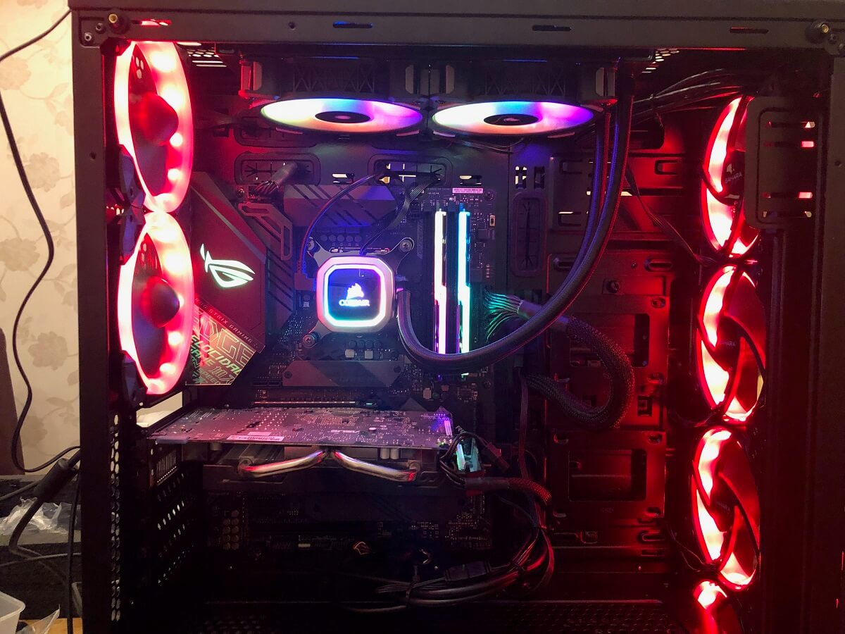 Gaming PC Build Completed by GY Computing