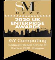 SME 2020 Enterprise Awards Computer Repair Service Glasgow (1)